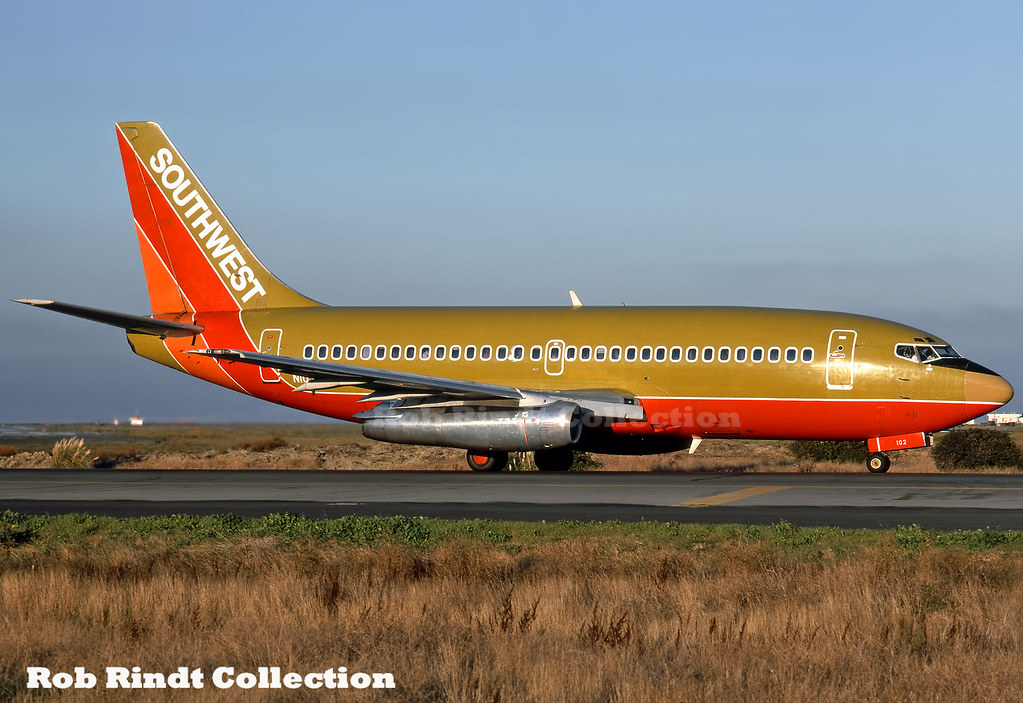 Southwest Airlines B737-2H4/Advanced N102SW
