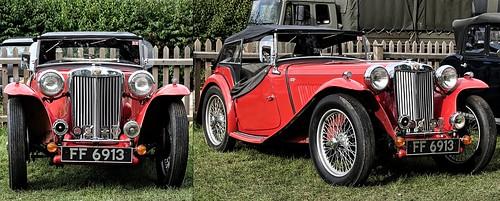1948 MG TC Midget. FF 6913. Oct 2019