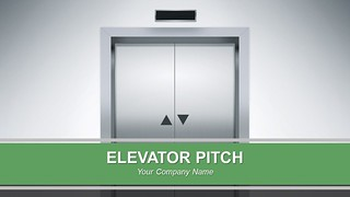 Elevator Pitch PowerPoint Presentation
