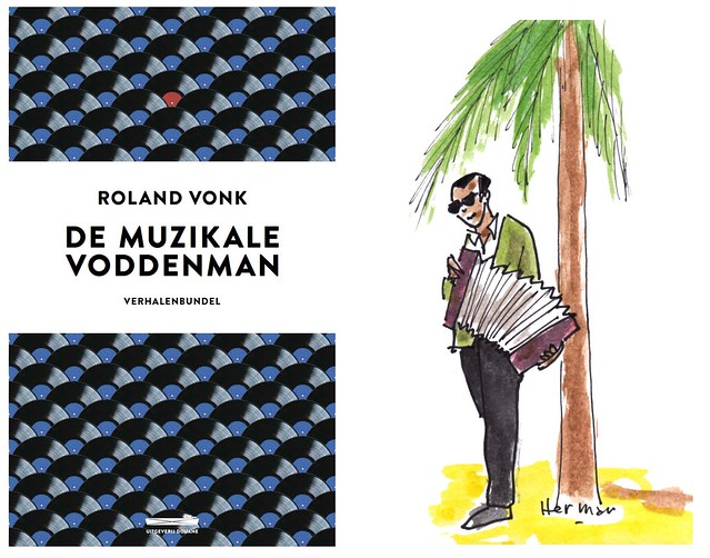 Roland Vonk wrote 'The musical rag man', I was allowed to make the illustrations. The book presentation is on November 5 in Kantine Walhalla, Rotterdam