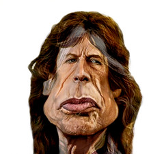 Caricatures Morphing