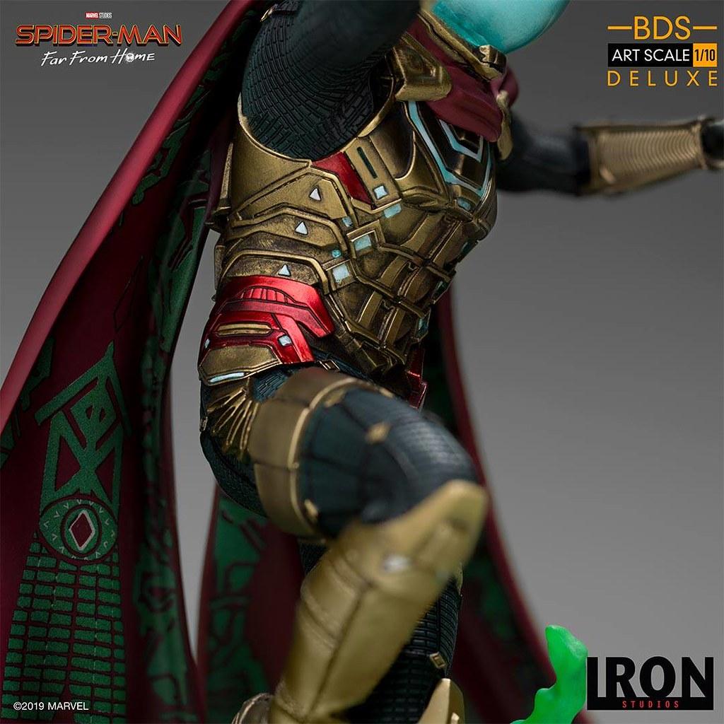 狡猾的騙術大師參戰! Iron Studios Battle Diorama 系列《蜘蛛人:離家日》神秘客 Mysterio 1/10 比例決鬥場景雕像