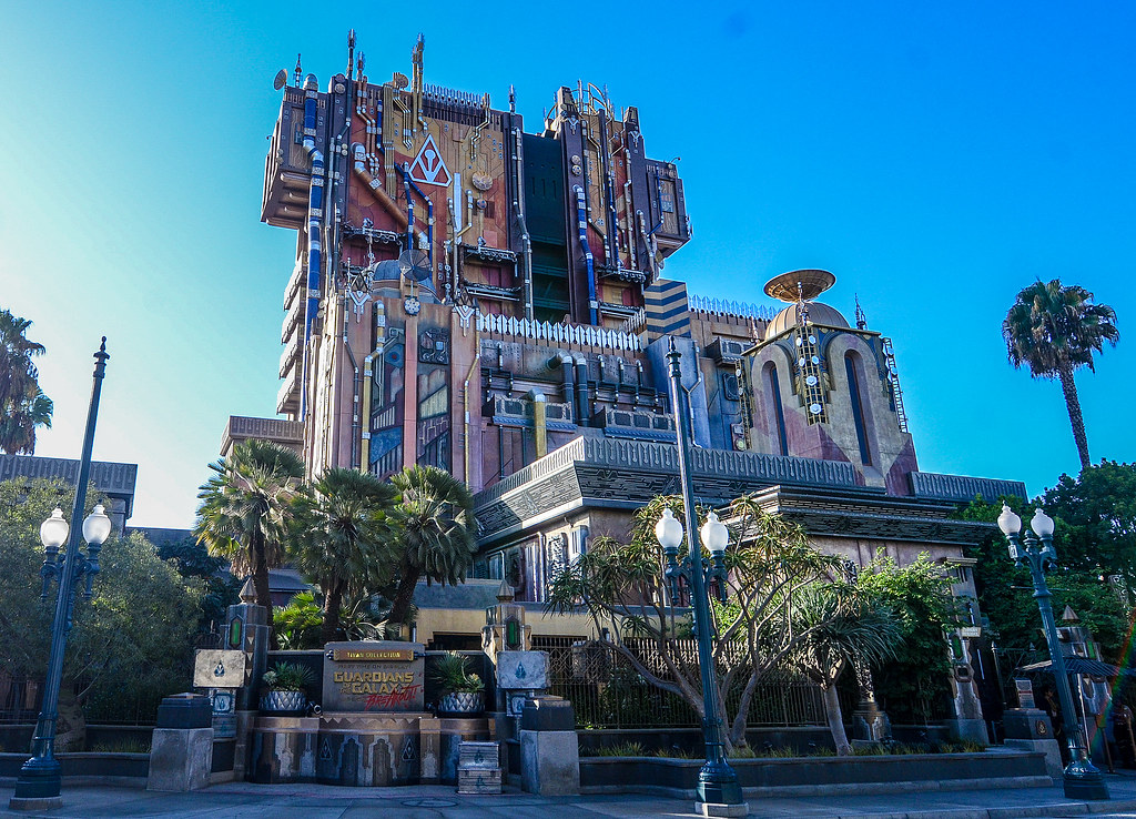 Mission BREAKOUT outside DCA