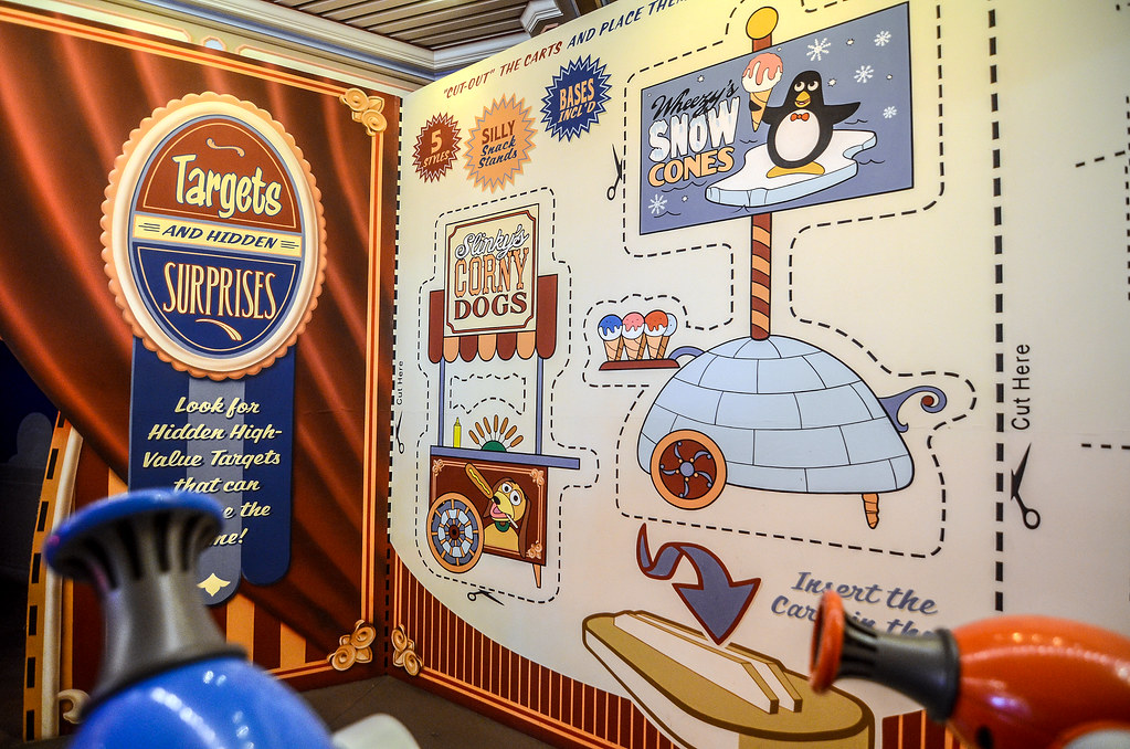 DCA Toy Story Mania walls