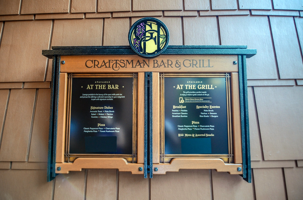 GCH Craftsman Bar & Grill sign