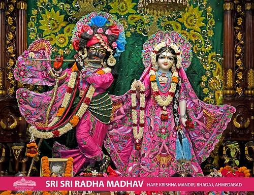 Hare Krishna Temple Ahmedabad Deity Darshan 18 Oct 2019