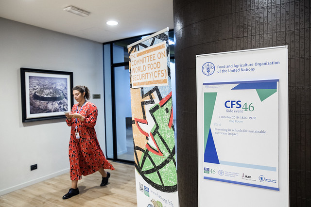 CFS 46 Side Event: SE135 Investing in schools for sustainable nutrition impact