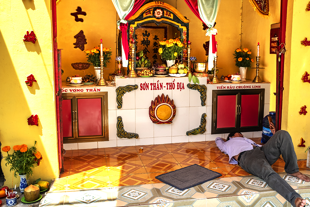 Shrine to Lords of the Mountain and Soil--Vung Tau