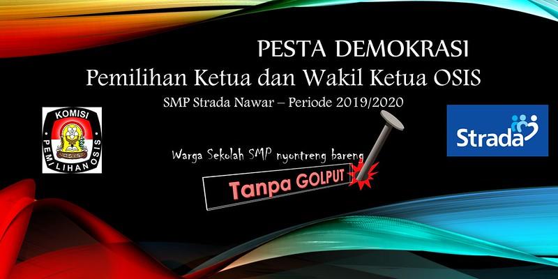 Kampanye dan Pemilihan Ketua OSIS Periode 2019/2020