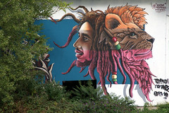 Mainz-Kastel, Graffito