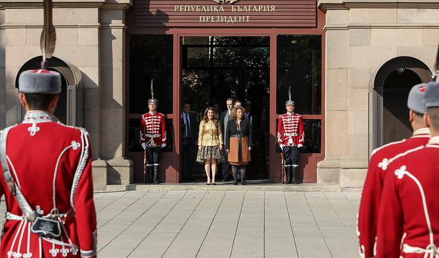 Ambassador Mustafa Presents Her Credentials