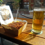 Chilli and Chips with pint of Munich Ale