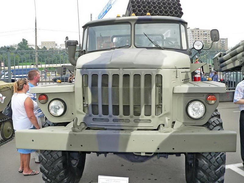 BM-21 Grad on URAL 4320 8