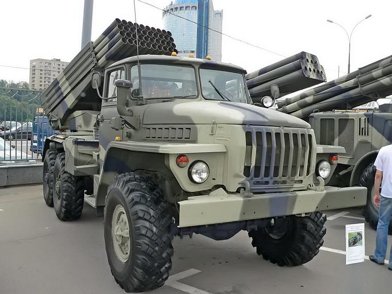 BM-21 Grad on URAL 4320 3