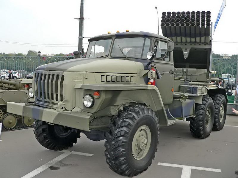 BM-21 Grad on URAL 4320 1