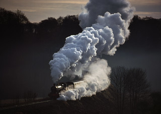 Shadow and steam