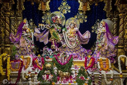ISKCON Vrindavan Deity Darshan 18 Oct 2019