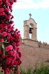 The medieval bell-tower of the Alcazaba in Almeria, Spain.