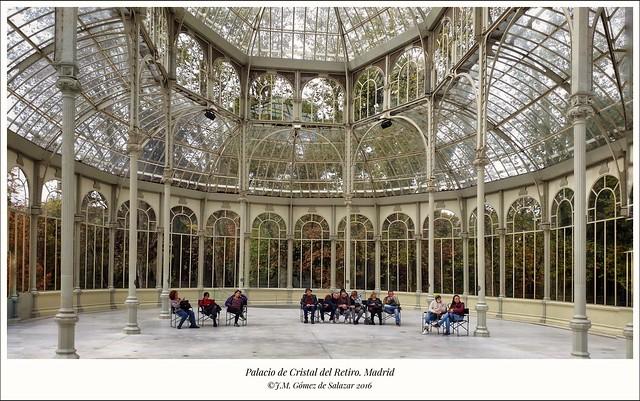 Palacio de Cristal del Parque de El Retiro. Madrid /