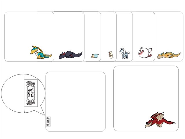 【商品情報公開】熊貓之穴《戽斗星球》X《魔物獵人》合作決定,戽斗魔物主題商品今秋登場!