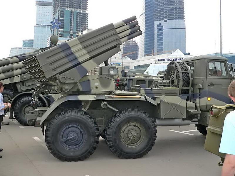 BM-21 Grad on URAL 4320 5