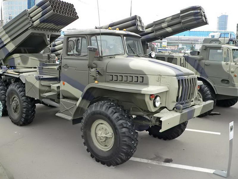 BM-21 Grad on URAL 4320 4