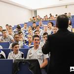 Qui, 17/10/2019 - 14:53 - O Politécnico de Lisboa, em parceria com o Centro Nacional de Cibersegurança realizam, durante o mês de outubro, um conjunto de ações de sensibilização e treino em cibersegurança, dirigido a estudantes do ensino secundário. A primeira ação decorreu no Instituto dos Pupilos do Exército, no dia 17 de outubro de 2019.
