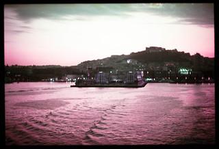 Naples harbour (Lomochrome Purple)
