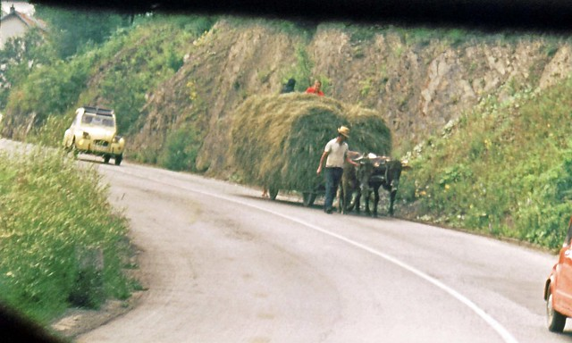 Yugoslavia, road traffic, 1975