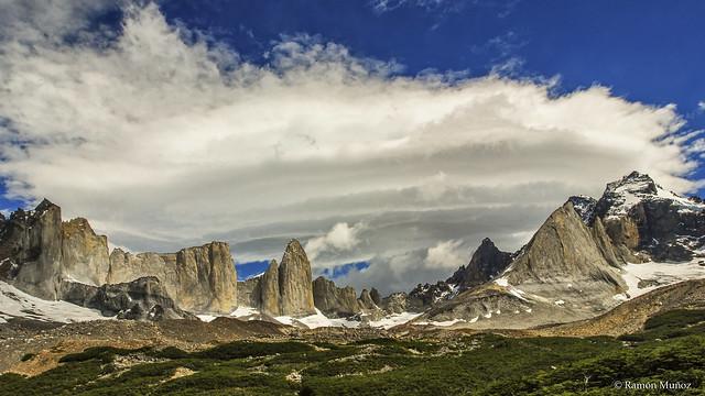 DSC0194 Valle del Francés, Parque Nacional de las Torres del Paine, Patagonia, Chile
