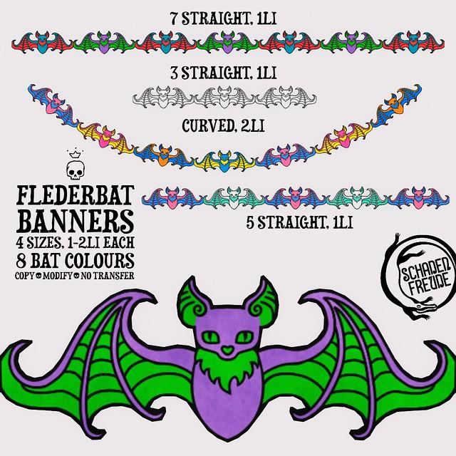 flederbat banners