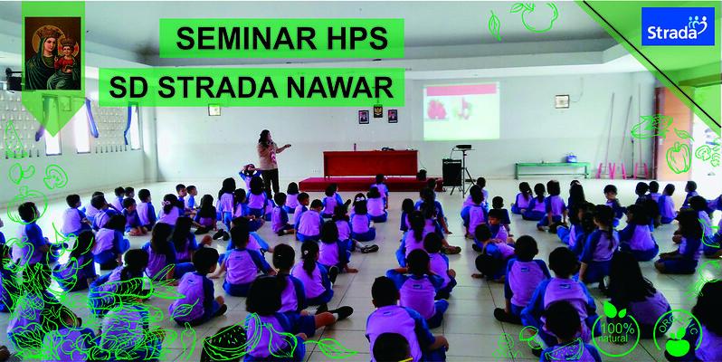 Seminar Hari Pangan Sedunia SD Strada Nawar 2019
