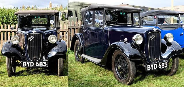 1936 Austin Seven Opal. BYD 683. Oct 2019