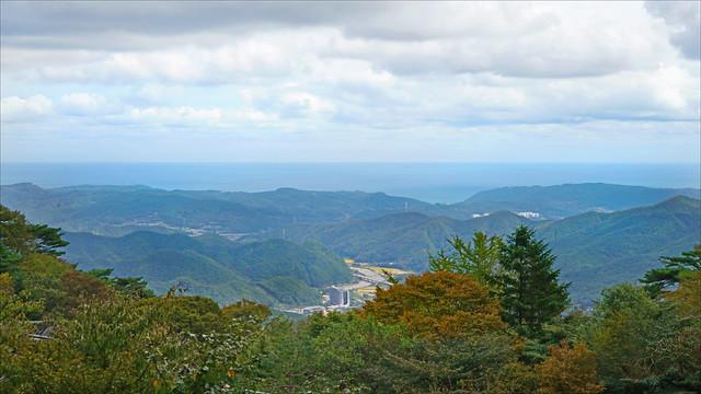 Paysage du site bouddhique de Seokguram (Corée du sud)