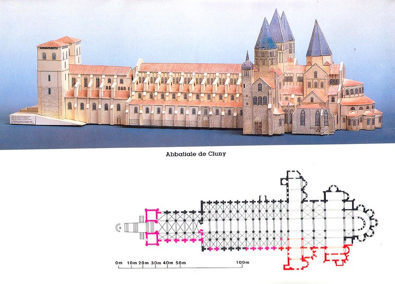 02 Собор Петра и Павла аббатства Клюни 1089-1220