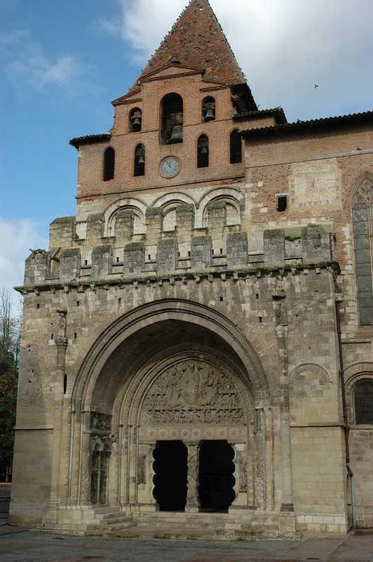 26 Аббатство Сен-Пьер в Муссаке XI в. Южный портал
