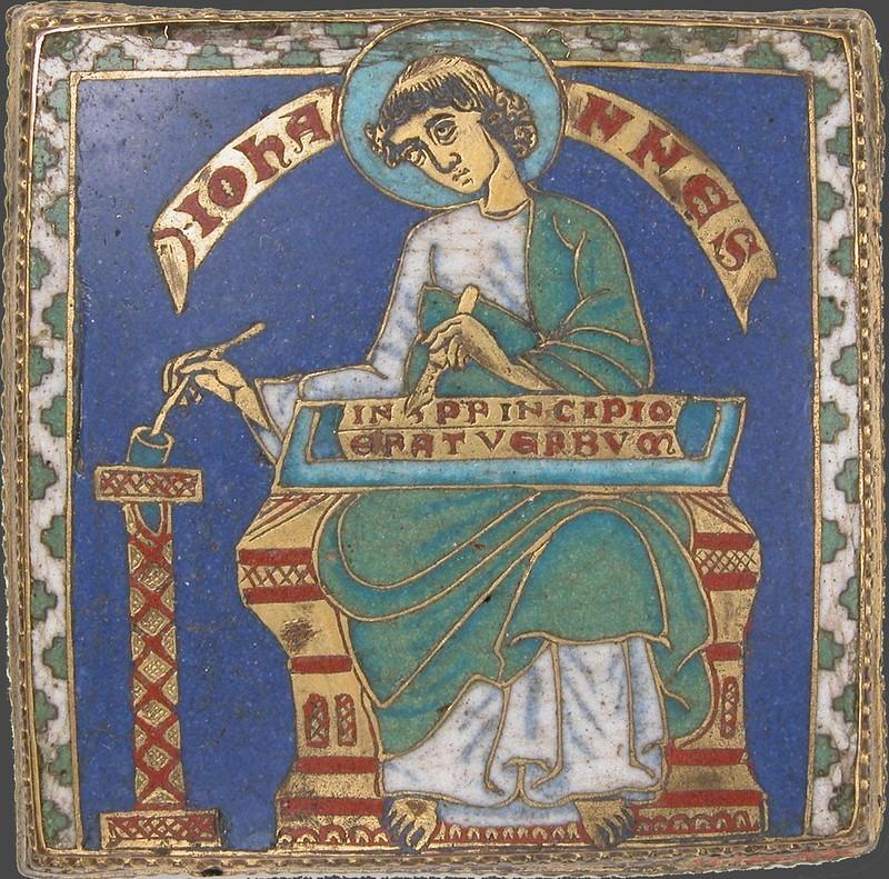 90 Иоанн Богослов,  1175г. Германия. Средний Рейн