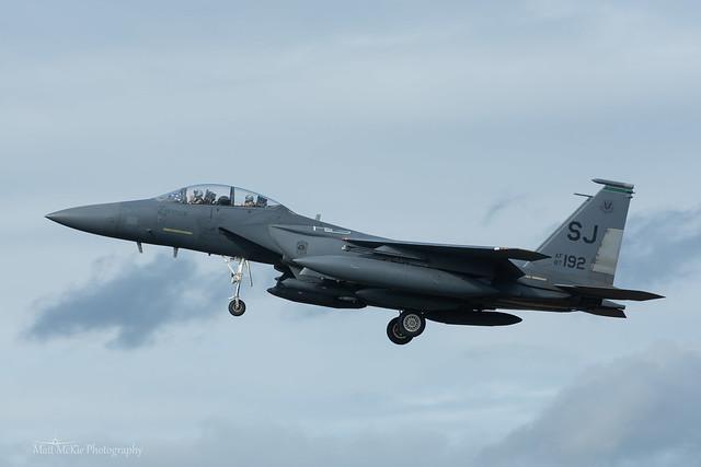 USAF, McDonnell Douglas F-15E Strike Eagle (87-0192/SJ) 'Christine', 335th FS/4th FW