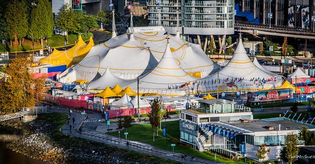 2019 - Vancouver - Cirque du Soleil LUZIA