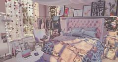 my pink bedroom