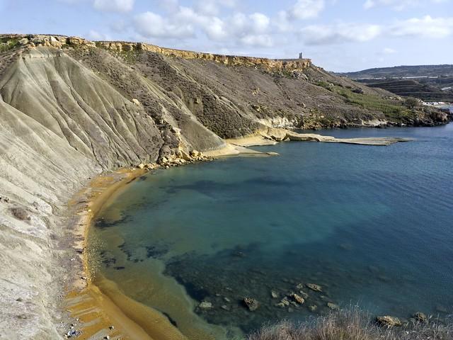 Clay Cliffs, Malta