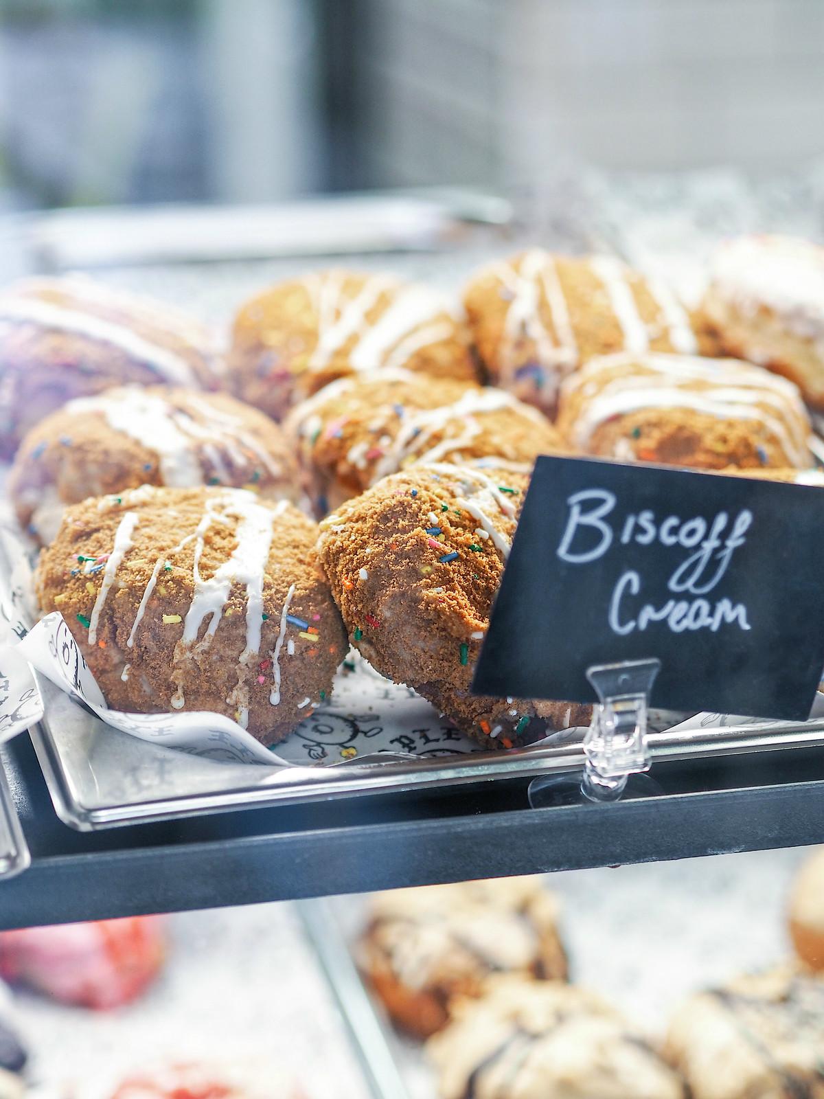 Vegan Lotus Biscoff Donuts Leeds