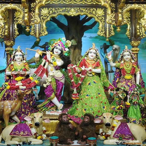 ISKCON Chowpatty Deity Darshan 18 Oct 2019