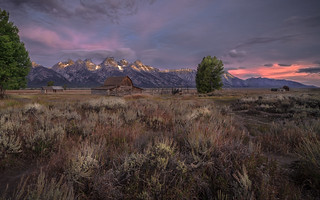Jackson Hole awakens....