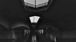 Dusk under the bridge - I shot film