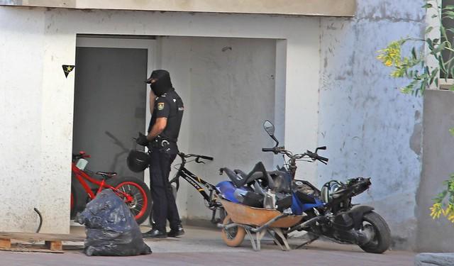 Operación policial en Las Terrazas del Puerto 18-10-19