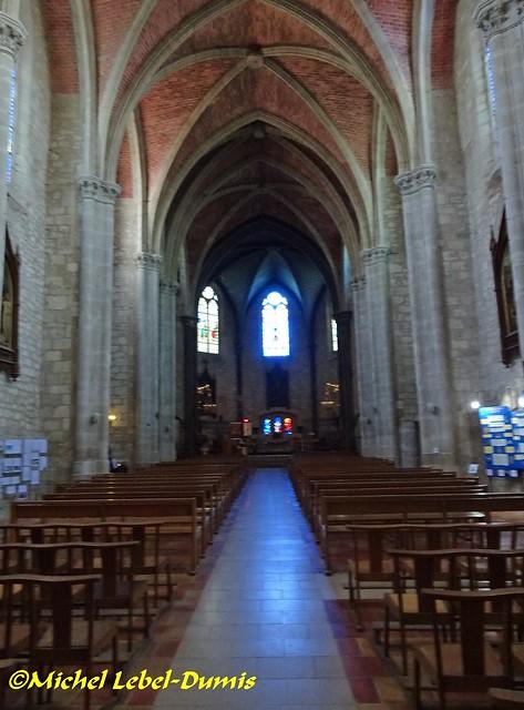 Église Saint-André de Monflanquin - La Nef