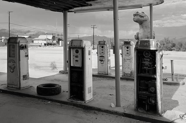 Dinosaurs, Desert Center, Ca.