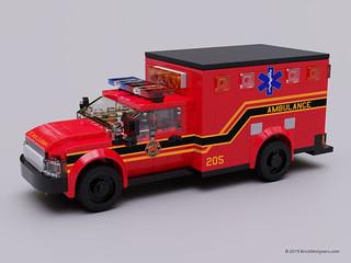 Fire Dept Ambulance