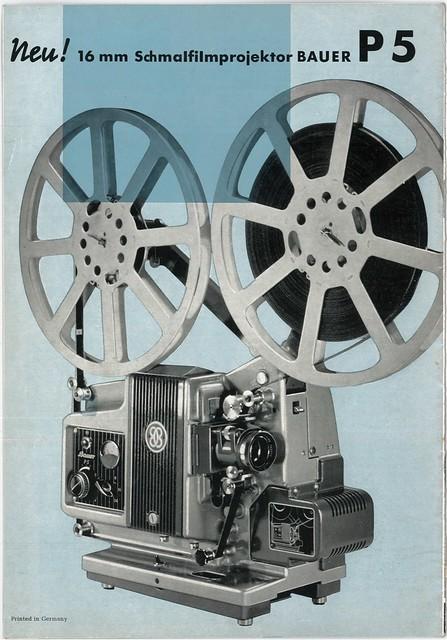 Vintage Print Ad: Bauer P5